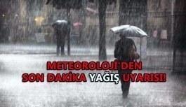 Meteoroloji'den son dakika uyarısı! O şehirde...