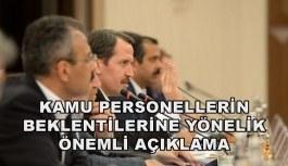 Ali Yalçın: Sözleşmeli personel pozisyonunda ayrım gözetilmemeli
