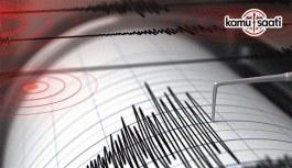 Bingöl'de 4,1 büyüklüğünde bir deprem daha meydana geldi