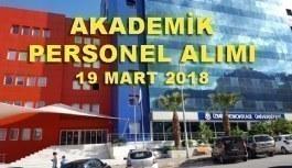 İzmir Demokrasi Üniversitesi Akademik Personel Alımı Yapacak