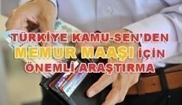 Türkiye Kamu-Sen: Ekonomideki olumsuzlukların memur maaşlarını doğrudan etkiledi