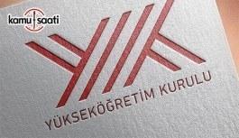 YÖK'ten yurtdışında görevlendirilecek 100 okutman alımı ilanı