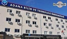 Adana Bilim ve Teknoloji Üniversitesi İleri Teknolojiler Uygulama ve Araştırma Merkezi Yönetmeliği - 9 Nisan 2018 Pazartesi