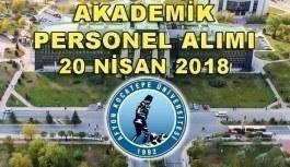 Afyon Kocatepe Üniversitesi 13 Akademik Personel Alımı Yapacak - 20 Nisan 2018