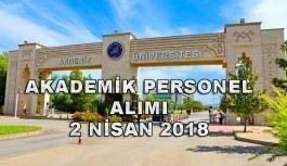 Akdeniz Üniversitesi akademik personel ve memur alımı yapacak - 2 Nisan 2018