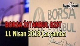 Borsa güne düşüşle başladı - Borsa İstanbul BİST 11 Nisan 2018 Çarşamba