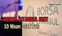 Borsa güne yükselişle başladı - Borsa İstanbul BİST 10 Nisan 2018 Salı