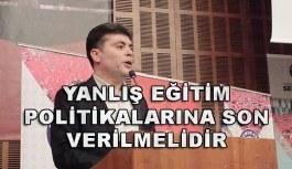 Eğitim-Bir-Sen Ankara 3 No'lu Şube Başkanı Aydınsoy: Yanlış eğitim politikalarına son verilmelidir