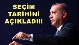Erdoğan'dan erken seçim tarihi için açıklama! Seçim ne zaman yapılacak?
