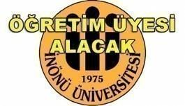 İnönü Üniversitesi 27 Akademik Personel Alacak - 5 Nisan 2018