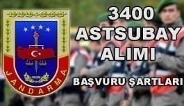 Jandarma Genel Komutanlığı 3400 Muvazzaf-Sözleşmeli Astsubay Alımı - Başvuru şartları