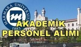 Marmara Üniversitesi Akademik Personel Alım İlanı - Başvuru şartları