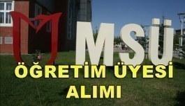 Muş Alparslan Üniversitesi Akademik Personel Alım İlanı - 18 Nisan 2018
