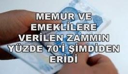 Türkiye Kamu-Sen: Memur ve emeklilere verilen zammın yüzde 70'i şimdiden eridi