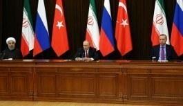 Türkiye-Rusya-İran Üçlü Zirvesi başladı! Suriye konusu...