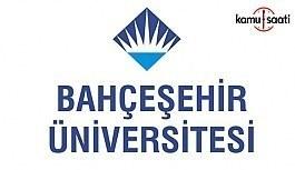 Bahçeşehir Üniversitesi Büyük Veri Uygulama ve Araştırma Merkezi Yönetmeliği - 28 Mayıs 2018 Pazartesi