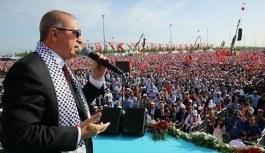 Cumhurbaşkanı Erdoğan'dan Yenikapı Mitingi konuşması! Bizim için Çanakkale neyse Kudüs de odur