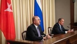 Dışişleri Bakanı Çavuşoğlu ile Lavrov görüşmesi! Suriye...