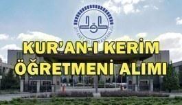 Diyanet İşleri Başkanlığı 2018 Yılı Kur'an-ı Kerim Öğretmeni Alım Sınavı - Başvuru şartları