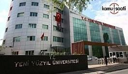 İstanbul Yeni Yüzyıl Üniversitesi Lisansüstü...