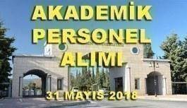 Mersin Üniversitesi Öğretim Üyesi İlanı - 31 Mayıs 2018