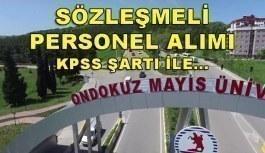 Ondokuz Mayıs Üniversitesi 224 Sözleşmeli Personel Alımı - 2 Mayıs 2018