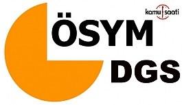 ÖSYM'den DGS adaylarına iki müjde