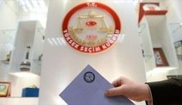 Seçmen kütükleri yarın kesinleşiyor - Seçim takvimi