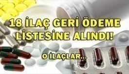 SGK 18 ilacı geri ödeme listesine aldı! O ilaçlar...