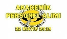Siirt Üniversitesi Akademik Personel Alacak - 22 Mayıs 2018