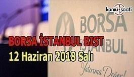 Borsa güne düşüşle başladı - Borsa İstanbul BİST 12 Haziran 2018 Salı