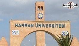 Harran Üniversitesi'ne ilişkin 7 yönetmelik Resmi Gazete'de yayımlandı - 12 Haziran 2018 Salı