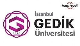 İstanbul Gedik Üniversitesi Enerji Teknolojileri Uygulama ve Araştırma Merkezi Yönetmeliği - 10 Haziran 2018 Pazar