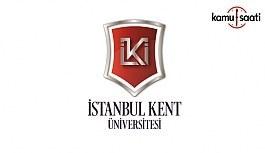 İstanbul Kent Üniversitesi Yaşam Boyu...