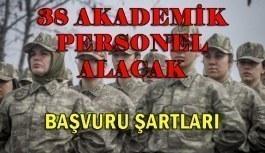 Jandarma ve Sahil Güvenlik Akademisi 38 Akademik Personel Alacak - Başvuru Şartları