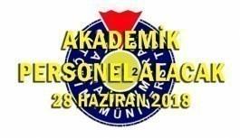 Kahramanmaraş Sütçü İmam Üniversitesi 6 Akademik Personel Alımı - 28 Haziran 2018