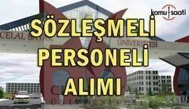 Manisa Celal Bayar Üniversitesi 29 Sözleşmeli Personel Alım İlanı - 8 Haziran 2018