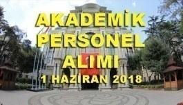 Sağlık Bilimleri Üniversitesi 121 Akademik Personel Alacak - 1 Haziran 2018