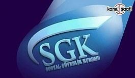 SGKHarcama Belgeleri Yönetmeliğinde Değişiklik Yapıldı - 10 Haziran 2018 Pazar