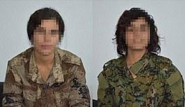 Teslim olan kadın teröristler PKK'daki paniği anlattı