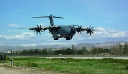TSK'ya altıncı 'uçan kale'! A400M Atlas uçağı...