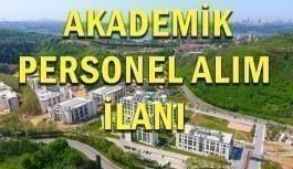 Türk-Alman Üniversitesi Akademik Personel Alım İlanı - 25 Haziran 2018