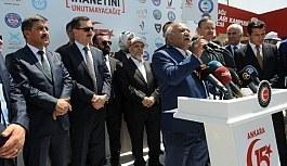 Ankara 15 Temmuz Platformu Tarafından Organize Edilen Programda 15 Temmuz Şehitleri Dualarla, Gaziler de Şükranla Yadedildi