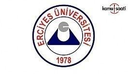Erciyes Üniversitesi 86 Sözleşmeli Personel Alım İlanı