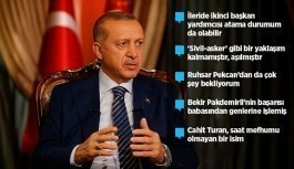 Erdoğan'dan yeni sistemin ilk kabinesi için önemli değerlendirme