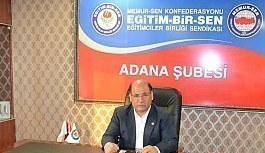 Eğitim-Bir-Sen Adana'da Demokrasi Şöleni Başlıyor