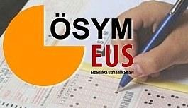 2018 EUS sınav sonuçları açıklandı