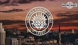 Ankara Üniversitesi'ne ait 2 yönetmelik - 6 Ekim 2018 Cumartesi