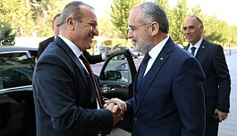 """Cumhurbaşkanı Başdanışmanı Yalçın Topçu """"Her zaman Kıbrıs Türkünün yanında durmaya devam edeceğiz"""""""