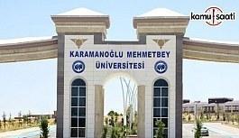 Karamanoğlu Mehmetbey Üniversitesi'ne...